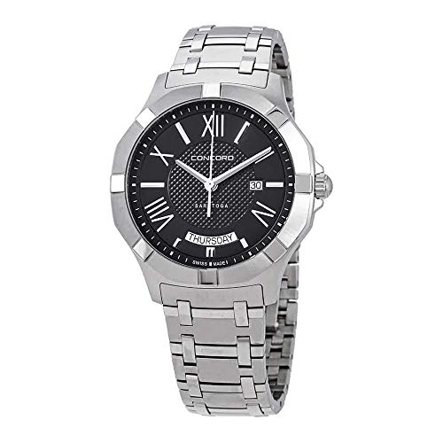 - Concord Mens Analogue Classic Quartz Watch with Stainless Steel Strap 320348