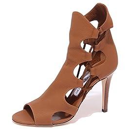 JIMMY CHOO 0955Q Sandalo Lucky Cuoio Scarpa Donna Sandal Woman