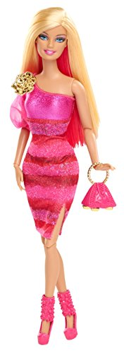Barbie Fashionista Barbie Doll - Hot Pink Dress