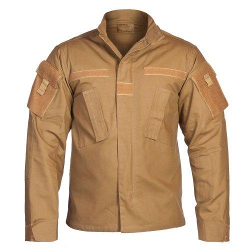 USA chaqueta de campo, ACU, Acanalado - Nightcamo, XL Coyote Camuflaje