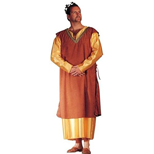 [Mememall Fashion Medieval or Biblical King Adult Mens Costume X-Large (Chest Size 44-48)] (Cinderella Stepmother Costumes)