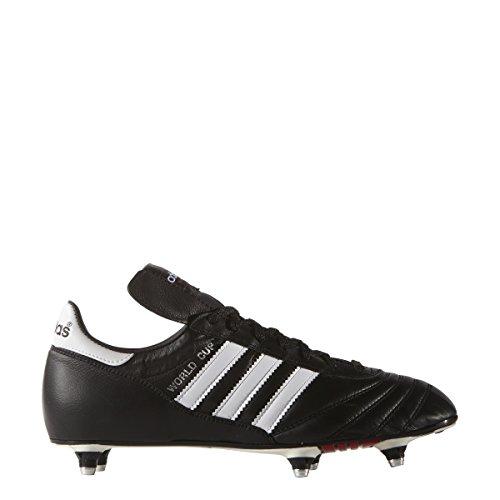 adidas Men's World Cup Soccer Shoe, Black/White, 7.5 M US
