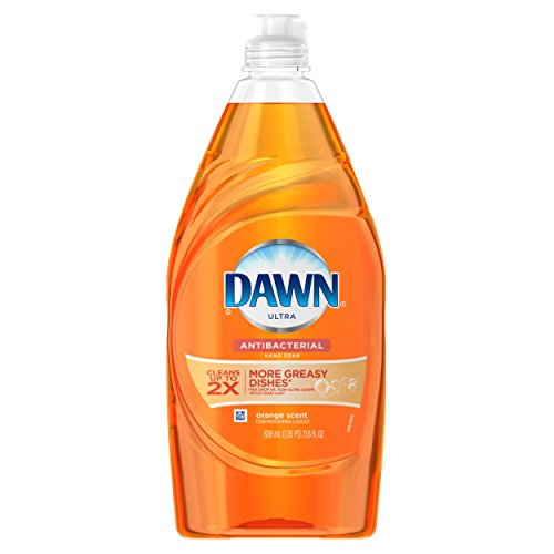 Dawn Ultra Antibacterial Hand Soap Orange Scent Dishwashing Liquid, 21.6 Fl (Dawn Liquid Dish Soap)