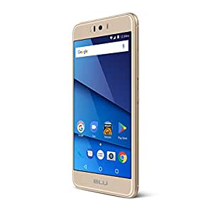 BLU R2 - 4G LTE Unlocked Smartphone - 16GB + 2GB RAM -Gold (Certified Refurbished)