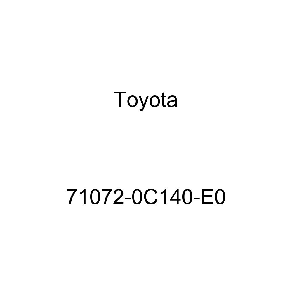 TOYOTA Genuine 71072-0C140-E0 Seat Cushion Cover