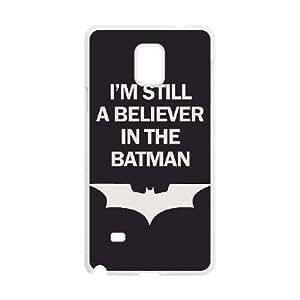 Batman Samsung Galaxy Note 4 Cell Phone Case White JT3858193438