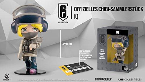 "Ubisoft Six Collection IQ Chibi 4"" Figurine Figure"