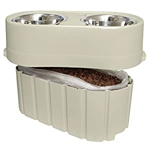 Our Pets Store-N-Feed Adjustable Feeder