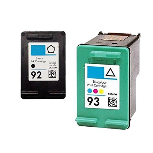 (Unknown Remanufactured Ink Cartridge Replacement for HP C9362WN C9361WN (Black TriColor 2-Pack))