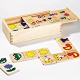 Domino Dominiques In Wooden Box Game