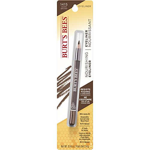 Burt's Bees Nourishing Eyeliner, Warm Brown – 0.04 Ounce
