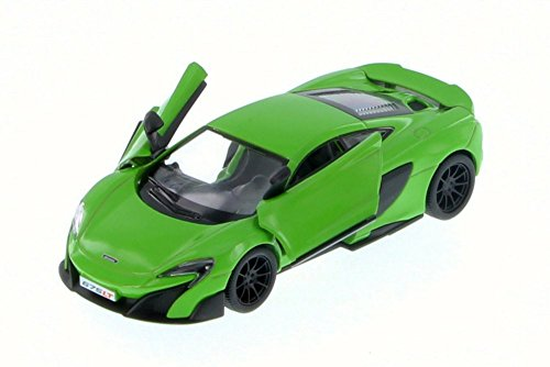 Kinsmart McLaren 675LT, Green 5392D - 1/36 Scale Diecast Model Toy Car but NO - Diecast Scale Toy