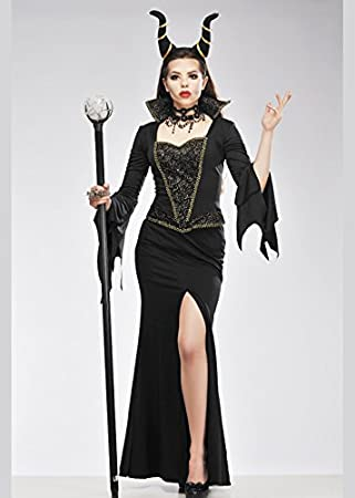 Delights Disfraz de hechicera Reina Malvada Estilo maléfico para ...