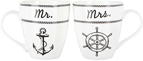 Pfaltzgraff 2-pc. Nautical Porcelain Mug Set One Size by Pfaltzgraff Everyday by Pfaltzgraff Everyday