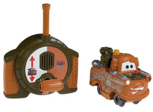 Fisher-Price GeoTrax Disney/Pixar Cars 2 RC Spy Mater (Cars Disney Pixar Geotrax)