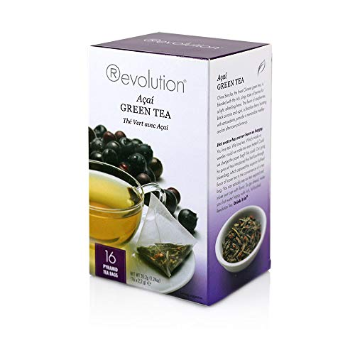 Revolution Tea Acai Green Tea, 1.24 Oz 16 Count