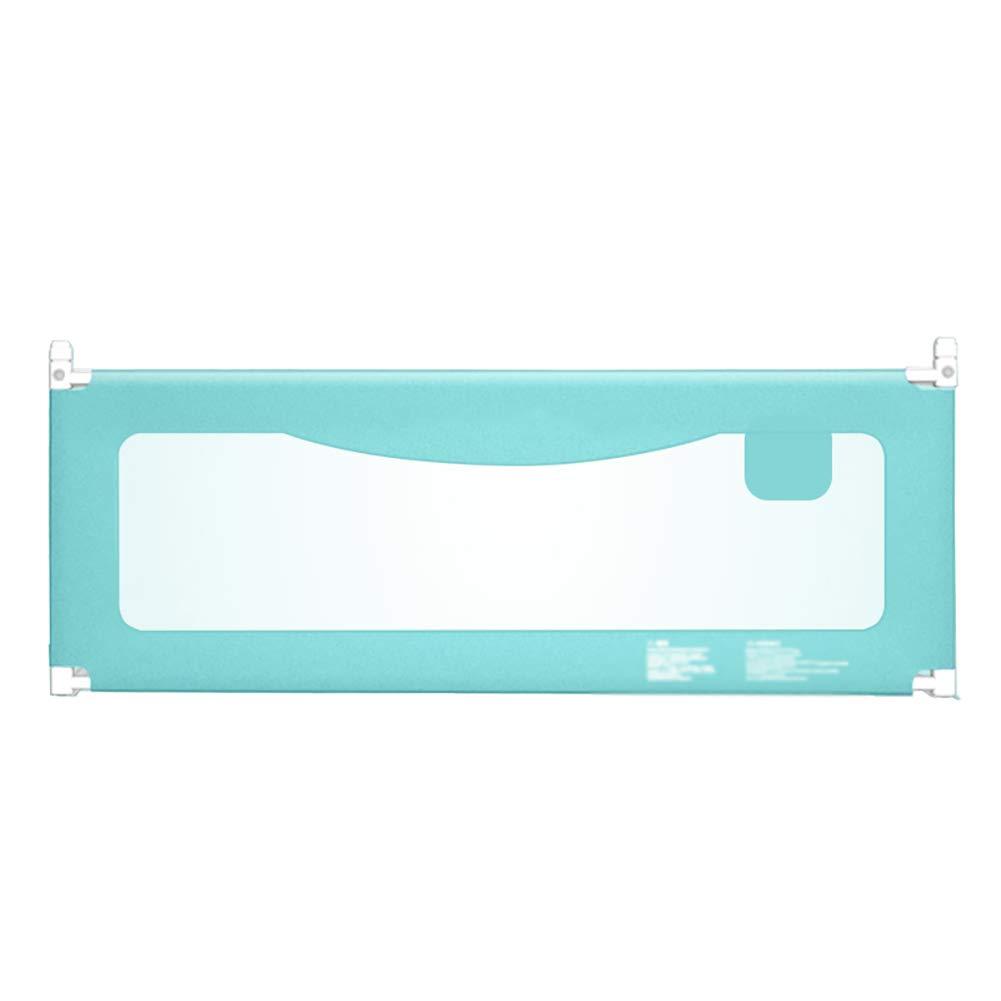 ベッドフェンス 幼児ベッドレールガードのためのブルーベッドレールキッズツイン、ダブル、ユニバーサルマットレス子供ベビーベッドレール (サイズ さいず : Length 150cm) Length 150cm  B07K83FX45
