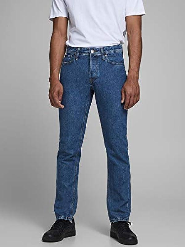 JACK & JONES Male Comfort Fit Jeans Mike Original AM 143: Odzież