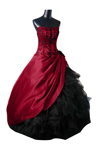 Toscana sposa Glamour senza spalline Satin tulle sera lungo Party Ball Bete un'ampia vestimento