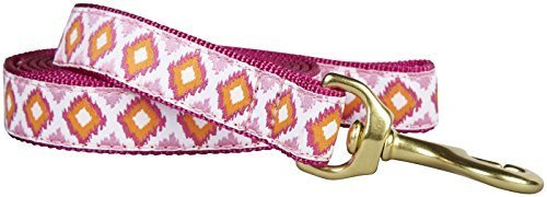 Up Country Dog Lead Pink Crush 1  x 6' by Up Country