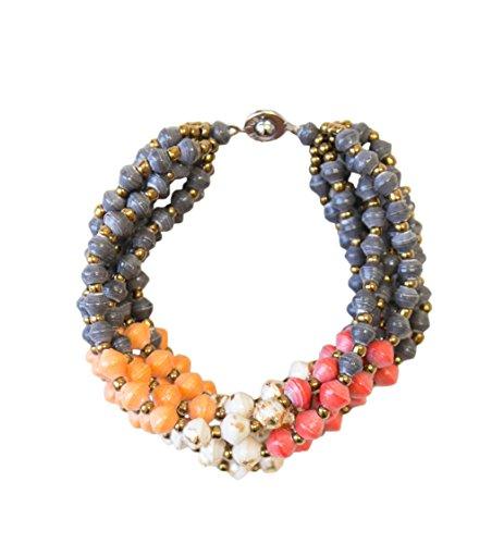 (31 Bits - Daydream Bracelet (Tangerine + Brick))