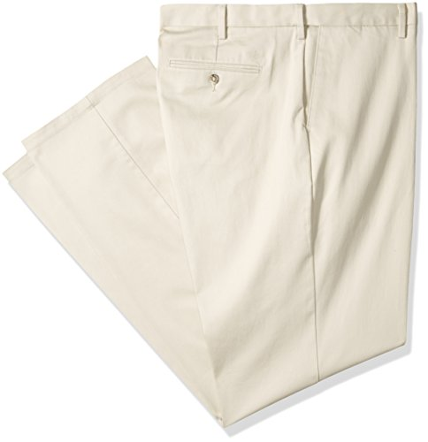 Dockers Men's Big and Tall Signature Khaki Pleated Pant, Navy/Stretch, (Signature Stretch Twill Pants)