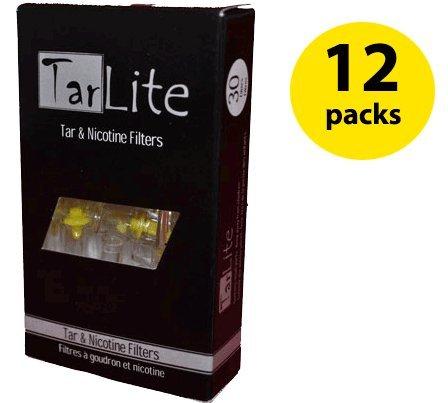 Tarlite Premium Cigarette Filters For Smokers, 360 Filters - 12 Packs Wholesale