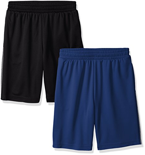 Amazon Essentials Boys 2-Pack Mesh Short