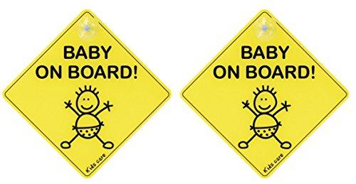 Elro CP111Wandtattoo Auto Baby Hat Rand-Modell zufällige