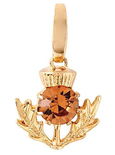 (Spartina 449 Jewelry Thistle Bloom Charm Topaz)