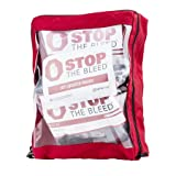 Curaplex Stop The Bleed Multi Pack Kit, Basic with Red Pouch