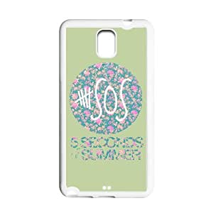Fashion 5SOS Personalized Samsung Galaxy Note 3 Gel Rubber Case Cover