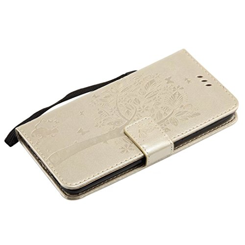 Cuir Avec Chat Ougger Lg Flip Or Portefeuille Pour Etui vert Magnétique Carte Coque Bumper Protecteur Housse Cover Silicone Et Fente Pochette V30 Arbre 4YqZAx4