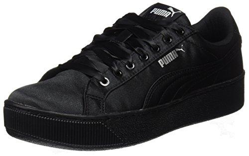 Puma WoMen Vikky Platform Ep Low-Top Sneakers Black (Puma Black-puma Black)