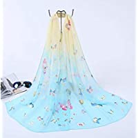 Fashion Women Scarf Soft Breathable Print Pattern Shawl Long Ladies Wrap Sheer Scarves by SamGreatWorld