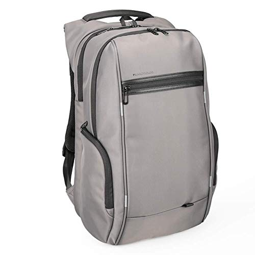 AI LI WEI Men and Women Anti Theft Business Backpack with USB Charging Port Waterproof Laptop Backpack. (Color : GrayA, Size : 17inch)