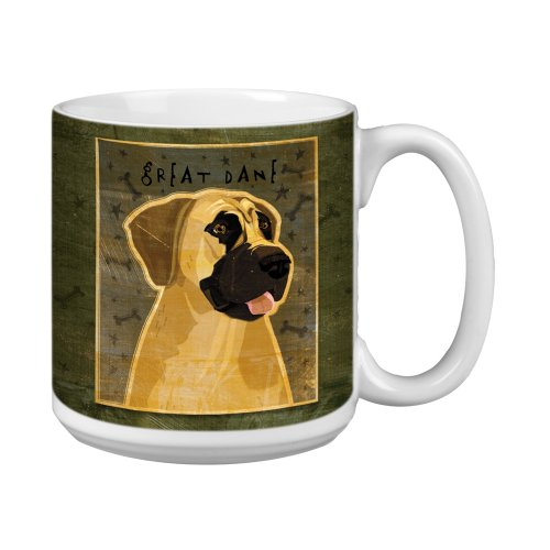 - Tree-Free Greetings XM28029 John W. Golden Artful Jumbo Mug, 20-Ounce, Great Dane-No Crop
