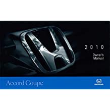 Amazon honda automotive books 2010 honda accord 2 door coupe owners manual guide book fandeluxe Gallery