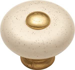 Hickory Hardware P222-OM 1-1/4-Inch Tranquility Cabinet Knob, Oatmeal