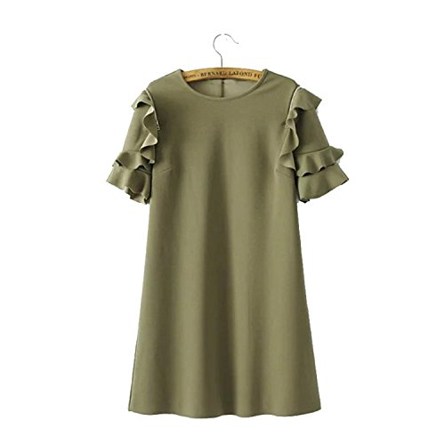 85bpvclkvc-fashion-women-off-shoulder-ruffles-army-green-straight-dresses-vestidos-qz2946-as-picture