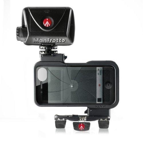 Manfrotto MKPLKLYP0 Accessorio per Iphone 4/4S, Serie Klyp Kit, Nero