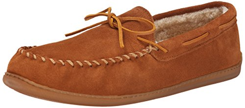 Brown Hardsole Pile Mocassins Minnetonka Men's Brown Lined CqfBBX