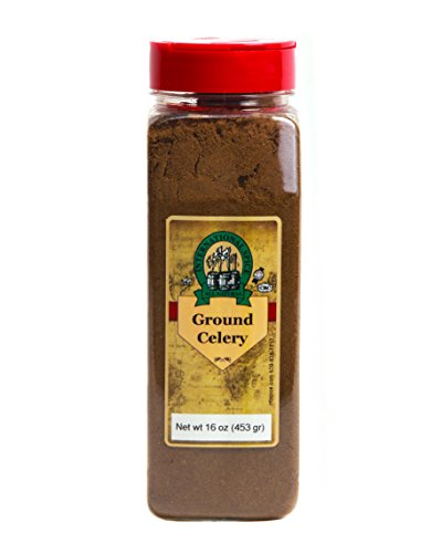 International Spice Premium Gourmet Spices- CELERY SEEDS GROUND: 16 oz