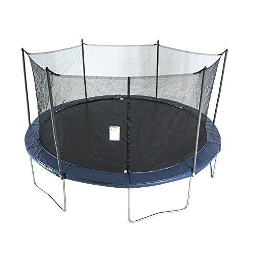 ActivPlay 14' Round Trampoline & Enclosure, Navy Blue