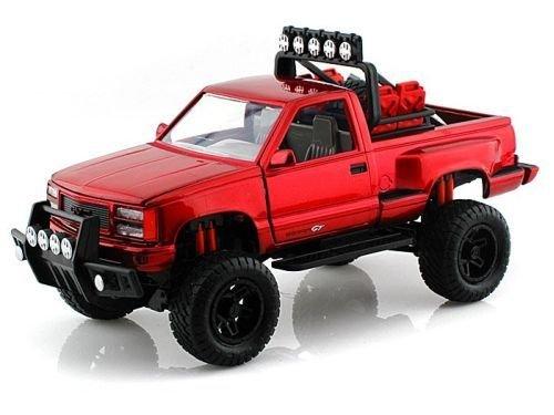 1992 Gmc Sierra Gt Pickup Off Road Truck 1:24 Scale Diec Cast