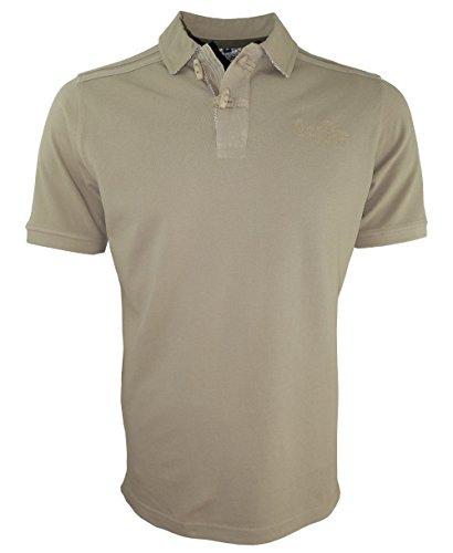 Baileys Polo Shirt Vintage in camel Baumwolle Polokragen Gr. M bis 4XL 415233-318