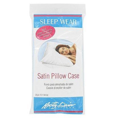 Betty Dain Satin Pillowcase Light Blue