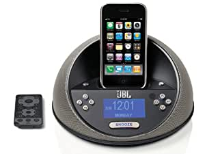 JBL On Time Micro - Altavoces (2.0, 12 W, 70 - 20000 Hz, 800 g, Negro, iPod iPhone MP3/CD players desktop/laptop computers)