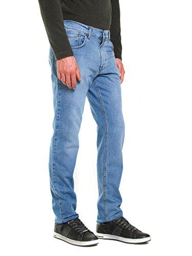 Relaxed Jeans Carrera Wash 051 Azul Stone Lavado para Hombre Vaqueros Super Luz wrTdEwq