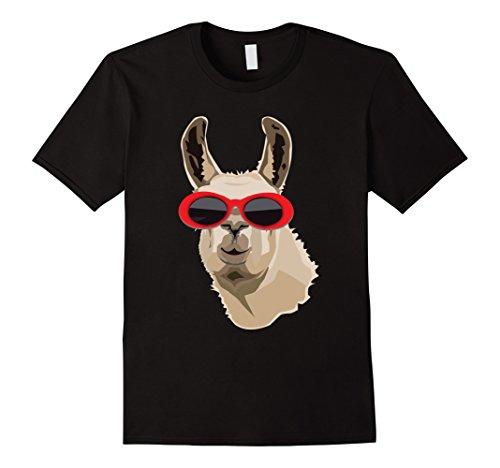 Mens Llama Clout Goggles Shirt: Llama EDM Hip Hop Rappers T-shirt Small - Goggles Clout Amazon
